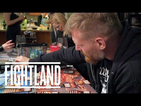 Playing Magic The Gathering With Josh Barnett: Fightland Meets
