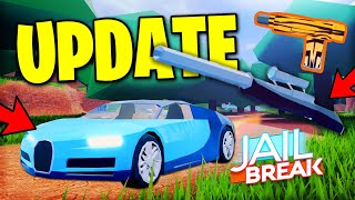 *FULL GUIDE*ROBLOX JAILBREAK UPDATE! SNIPER AND REVOLVER LOCATION| BUGATTI CHIRON SPEED TEST!