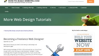 Freelance Web Designer Article