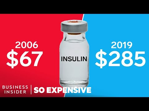 Why Insulin Is So Expensive | So Expensive