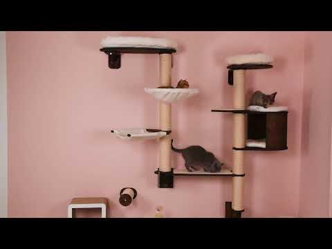 Wandkratzbaum für Katzen
