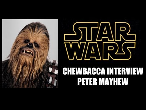 Star Wars Chewbacca Interview, Peter Mayhew | MTW