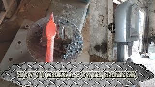 How to make a power hammer - YouTube