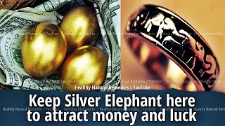 Keep Elephant Statue here to attract money, good luck | Vastu Shastra, Feng Shui tips