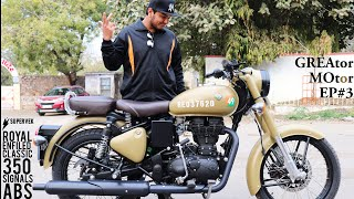 Royal Enfield Classic 350 Signals ABS Impressions, Price, Freatures And Accessories In Hindi.