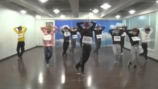EXO WOLF Dance mirrored