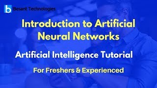 Introduction to Artificial Neural Networks  | Artificial Intelligence Tutorial For Beginners