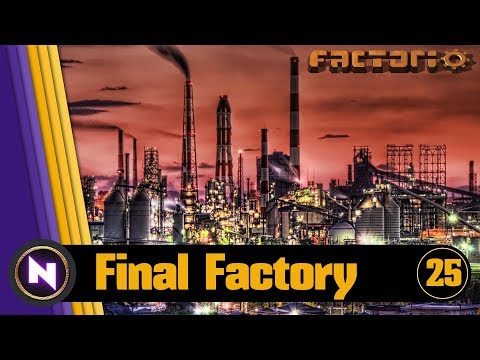 Factorio 0.16   Final Factory #25 EMBARASSING MISTAKES