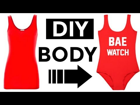 Convierte tu Camiseta a Body! (Sin coser)