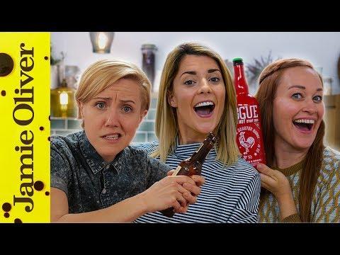 Hannah Hart  Mamrie Hart & Grace Helbig   Drinks Tube UK vs USA Beer Challenge