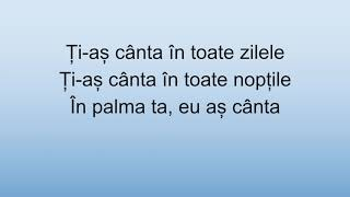 În Palma Ta   Ioana Ignat, Edward Sanda (versuri)