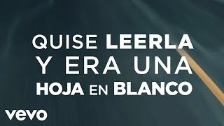 Dread Mar I - Hoja en Blanco (Lyric Video)