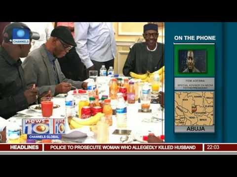 APC Governors Meet With Buhari In London