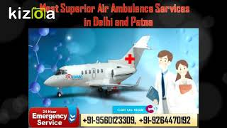 Choose Special ICU Support Air Ambulance Services in Delhi by Medivic