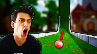 HOLE IN ONE'S ONLY?! *TROLL MAP* (Golf It)