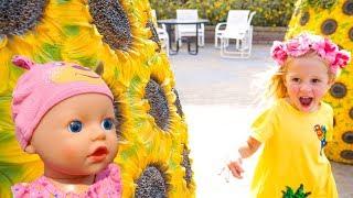 Кукла Беби Бон убежала от Насти в парке Miracle Garden в Дубаи