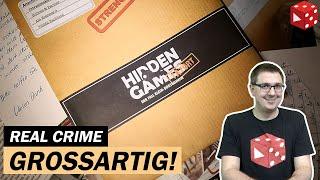 Hidden Games Tatort: Der Fall Klein-Borstelheim - Fall 1- Real Crime Spiel - SUPER!