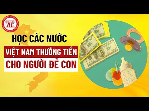 Học Các Nước, Việt Nam Thưởng Tiền Cho Người Đẻ Con