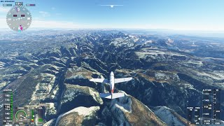 Flight Simulator, Zion National Park, US Utah [4K]