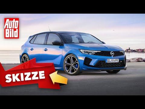 Opel Astra L OPC (2021) |  Astra OPC als 300 PS-Plug-in-Hybrid? So könnte er aussehen | Skizze