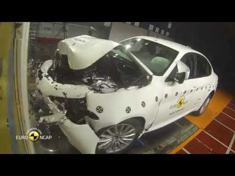 Euro NCAP Crash Test of Alfa Romeo Giulia 2016