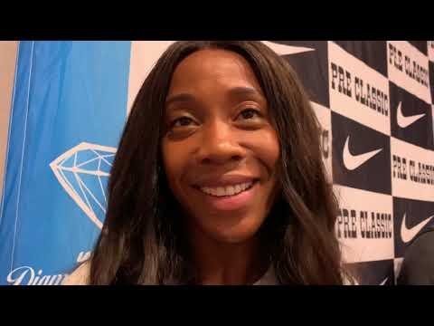 Shelly-Ann Fraser-Pryce on how she came back to run 10.73 after childbirth