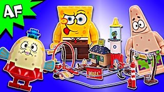 Lego SpongeBob Mrs. PUFF's BOATING SCHOOL 4982 Speed Build