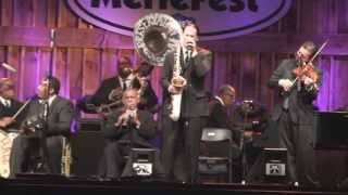 Merlefest 2013 - Del McCoury and the Preservation Hall Jazz Band - I