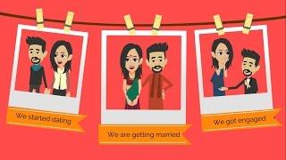 ✅ Wedding Invitation Video | Electronic Personalized Wedding Invitations