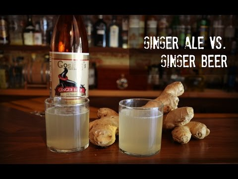 Video Ginger Ale vs Ginger Beer, what's the difference?