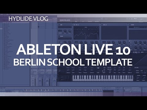 Ableton Live 10 Berlin School template setup