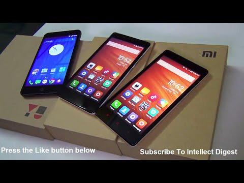 Micromax Yu Yureka VS Xiaomi Redmi Note 4G VS Xiaomi Redmi Note 3G Comparison Video