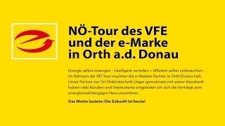 preview picture of video 'NÖ-Tour des VFE und der e-Marke in Orth a.d. Donau'