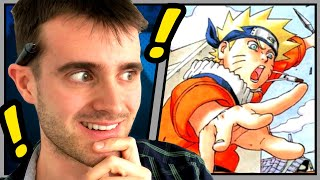 Illustrator Reacts To Manga And American Comic Artists (Requested By Subscribers)