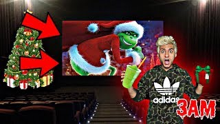 DO NOT WATCH THE GRINCH MOVIE AT 3AM!! *OMG GRINCH CAME TO MY HOUSE*