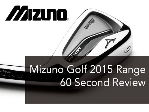 Mizuno Golf 2015 range – 60 second review