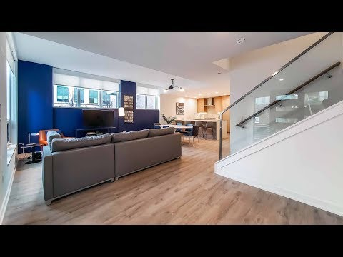 A fully-furnished townhome at the fabulous new Old Town Park 2