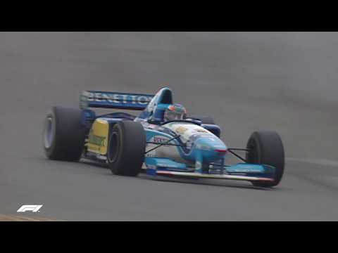 Schumacher and Alesi Duel in Germany | 1995 European Grand Prix