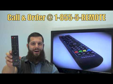 Proscan 1058995 TV Remote Control