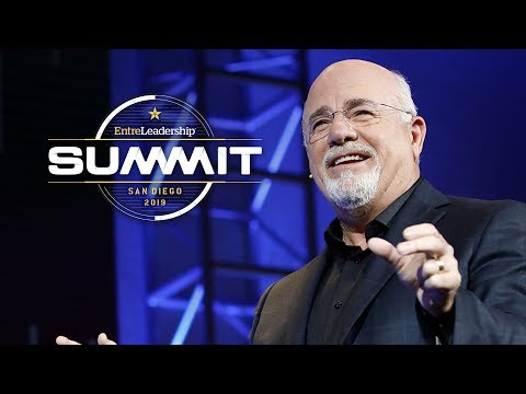 Dave Ramsey at the EntreLeadership Summit 2019