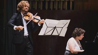 Artiom Shishkov & Dasha Moroz: M.Ravel - Sonata for violin and piano No.2 in G Major, op.77