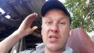 Подготовка мест к установке втулок кузова Камаз и снова злостный балансир!!! ч2.