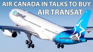 Air Canada In Talks To Buy Air Transat