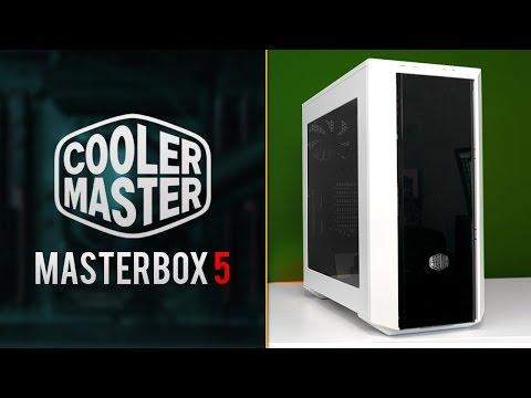 CoolerMaster MasterBox 5 Review | Modular Gaming Computer Case