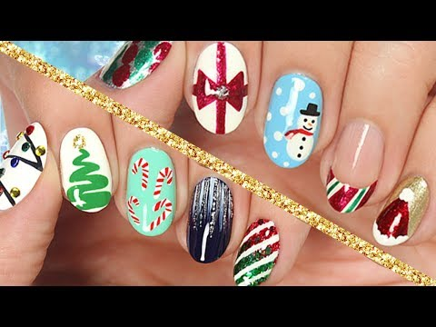 10 Easy Nail Art Designs for Christmas: The Ultimate Guide 2017