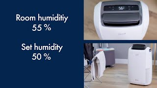 How To Dehumidify With Your DDSX Dehumidifier - Tasciugo AriaDry DDSX225 Dehumidifier