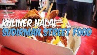 3 Kuliner Halal di Sudirman Street Food Bandung yang Wajib Dicicipi
