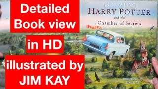 Harry Potter And The Chamber Of Secrets - Illustrated By Jim Kay - Detailed Book View
