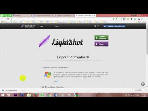 Hướng dẫn cách dùng phần mềm Light Shot để chụp ảnh màn hình dễ dàng