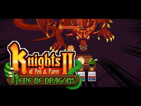 Knights of Pen and Paper 2 - Here be Dragons Trailer thumbnail